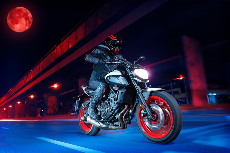 2020 Yamaha MT-07 in Santa Clara, California - Photo 9