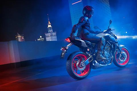 2020 Yamaha MT-07 in Sacramento, California - Photo 12