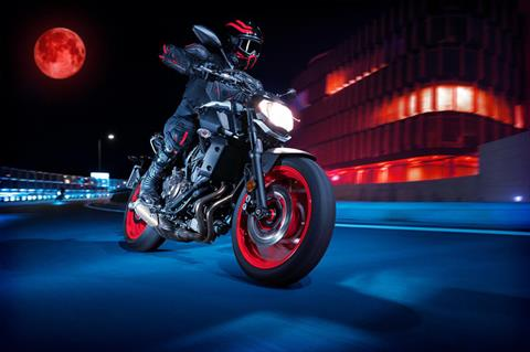 2020 Yamaha MT-07 in San Jose, California - Photo 11