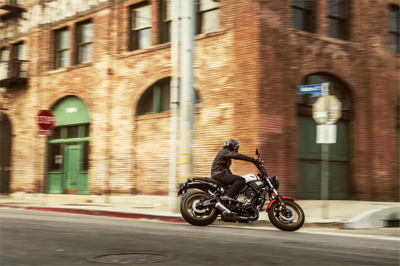 2020 Yamaha XSR700 in San Jose, California - Photo 16