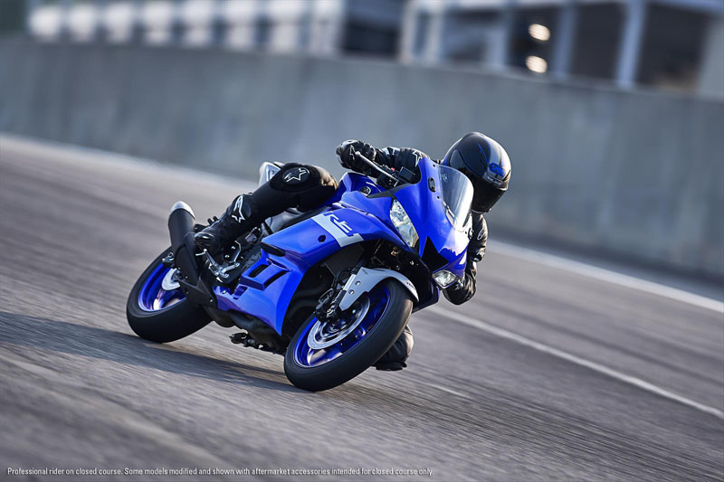 2020 Yamaha YZF-R3 ABS in Escanaba, Michigan - Photo 4