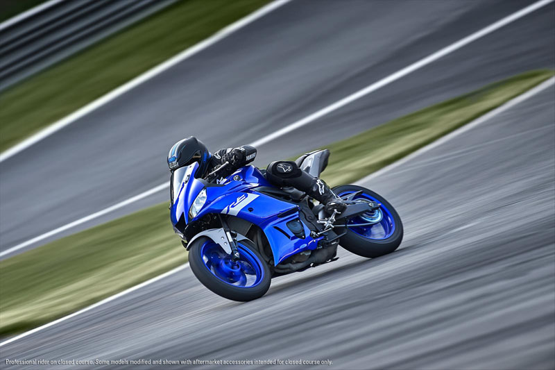 2020 Yamaha YZF-R3 ABS in Santa Clara, California - Photo 5