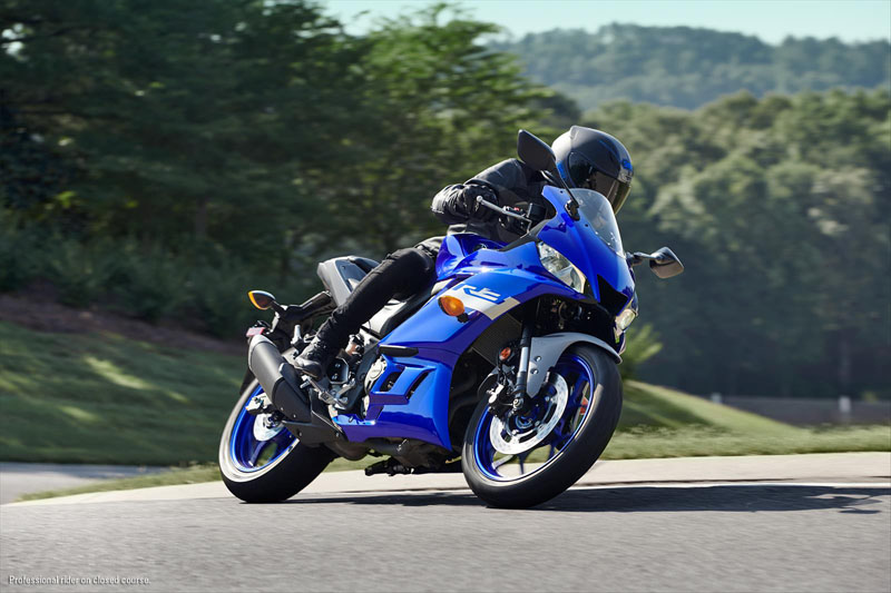 2020 Yamaha YZF-R3 ABS in Brooklyn, New York - Photo 8