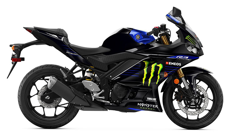 2020 Yamaha YZF-R3 ABS Monster Energy Yamaha MotoGP Edition in Escanaba, Michigan - Photo 1