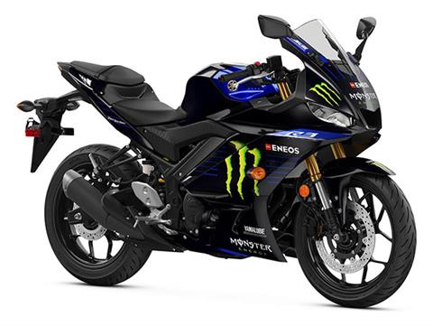 2020 Yamaha YZF-R3 ABS Monster Energy Yamaha MotoGP Edition in Brewton, Alabama - Photo 2