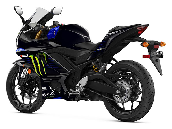 2020 Yamaha YZF-R3 ABS Monster Energy Yamaha MotoGP Edition in Durant, Oklahoma - Photo 3