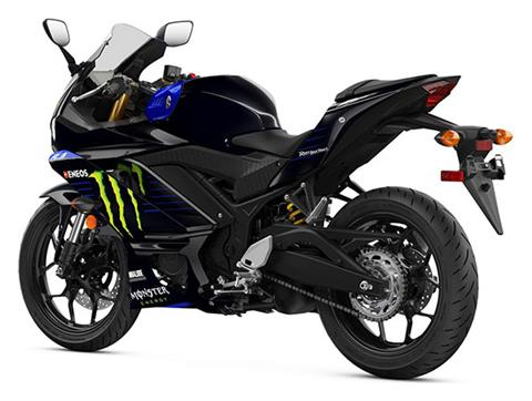 2020 Yamaha YZF-R3 ABS Monster Energy Yamaha MotoGP Edition in Escanaba, Michigan - Photo 3