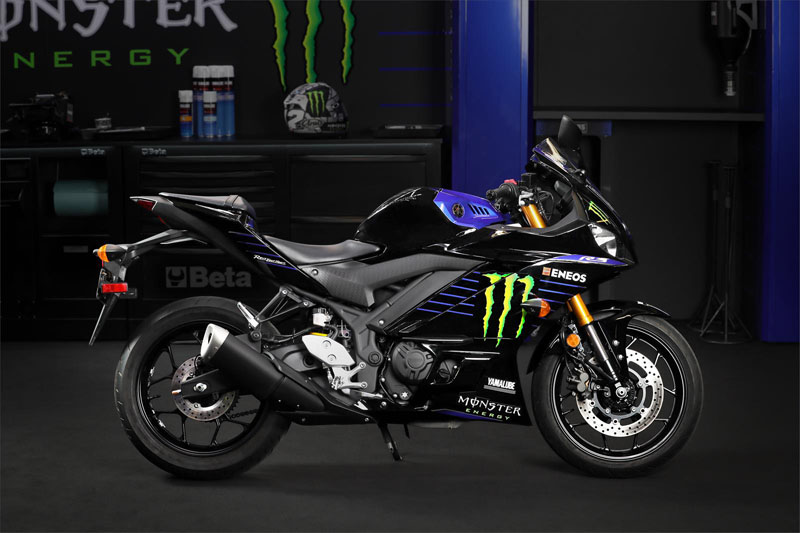 2020 Yamaha YZF-R3 ABS Monster Energy Yamaha MotoGP Edition in Escanaba, Michigan - Photo 4