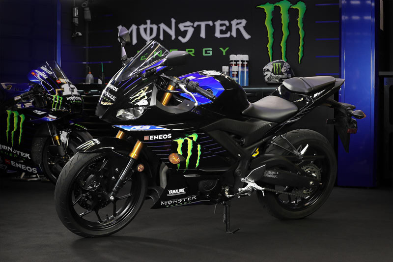 2020 Yamaha YZF-R3 ABS Monster Energy Yamaha MotoGP Edition in Carroll, Ohio - Photo 6