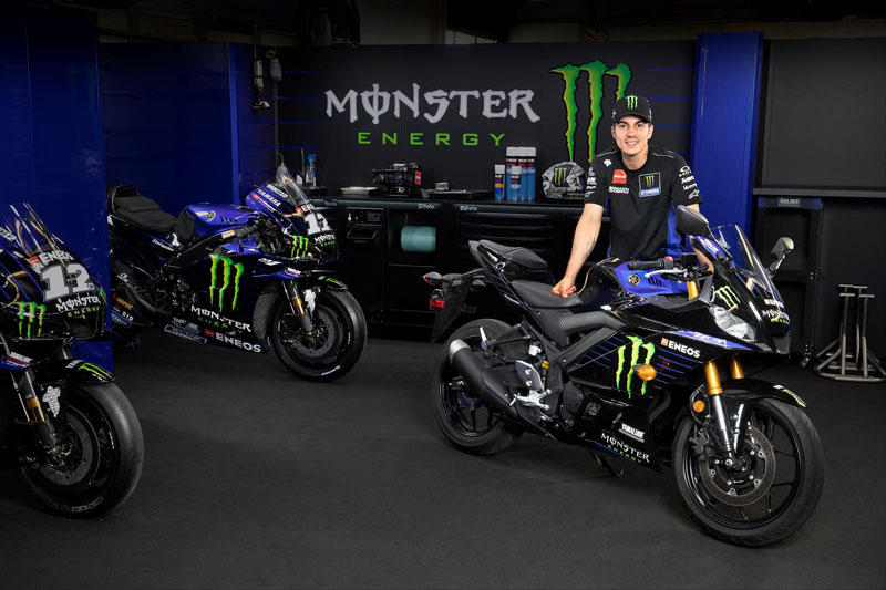 2020 Yamaha YZF-R3 ABS Monster Energy Yamaha MotoGP Edition in Escanaba, Michigan - Photo 7