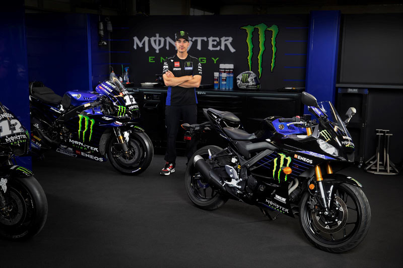 2020 Yamaha YZF-R3 ABS Monster Energy Yamaha MotoGP Edition in Cumberland, Maryland - Photo 8