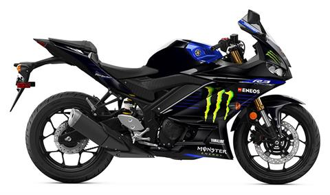 2020 Yamaha YZF-R3 Monster Energy Yamaha MotoGP Edition in Evanston, Wyoming