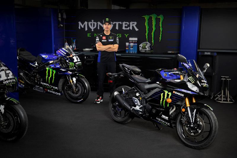 2020 Yamaha YZF-R3 Monster Energy Yamaha MotoGP Edition in Merced, California - Photo 8