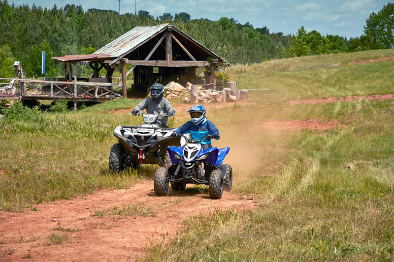 2021 Yamaha Raptor 90 in North Little Rock, Arkansas - Photo 3