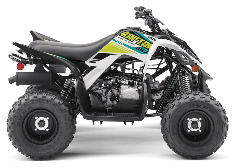 2021 Yamaha Raptor 90 in Saint Helen, Michigan - Photo 1