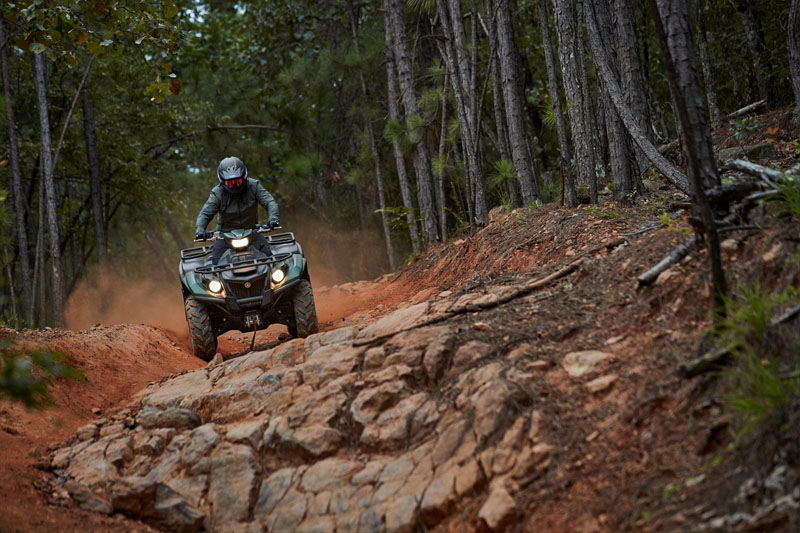 2021 Yamaha Kodiak 700 EPS SE in Cumberland, Maryland - Photo 5