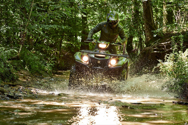 2021 Yamaha Kodiak 700 EPS SE in Cumberland, Maryland - Photo 9