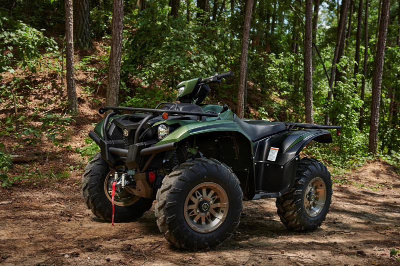 2021 Yamaha Kodiak 700 EPS SE in Cumberland, Maryland - Photo 10