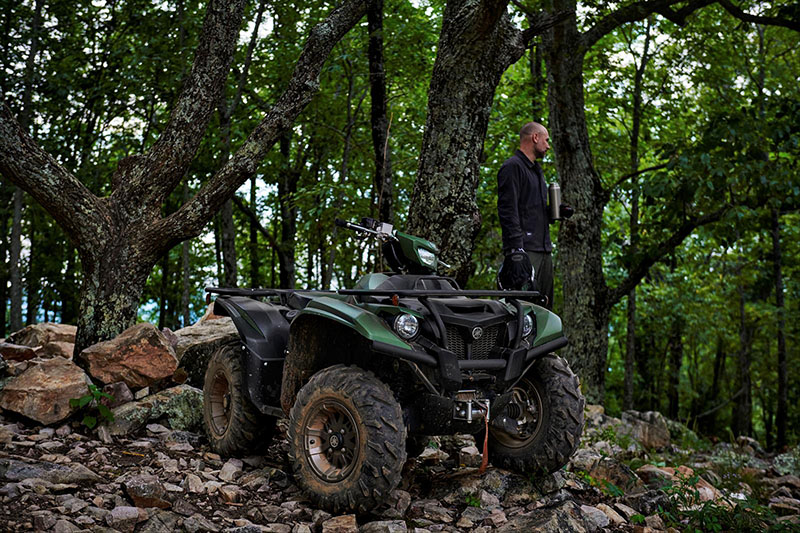 2021 Yamaha Kodiak 700 EPS SE in Cumberland, Maryland - Photo 12