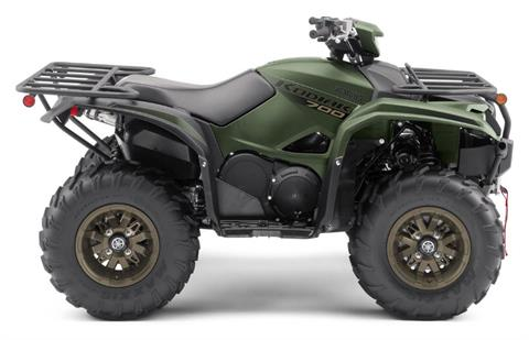 2021 Yamaha Kodiak 700 EPS SE in Brilliant, Ohio