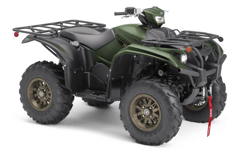 2021 Yamaha Kodiak 700 EPS SE in Geneva, Ohio - Photo 2