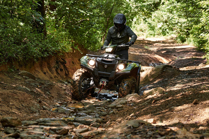2021 Yamaha Kodiak 700 EPS SE in Osseo, Minnesota - Photo 8