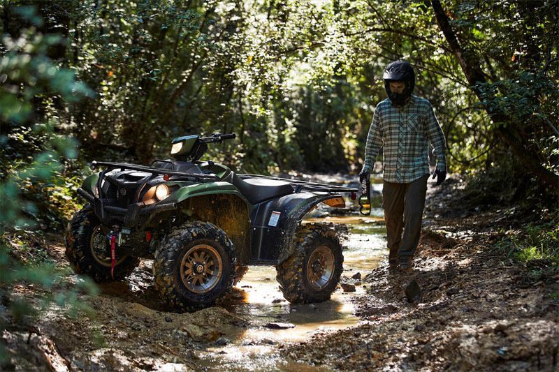 2021 Yamaha Kodiak 700 EPS SE in Sacramento, California - Photo 11