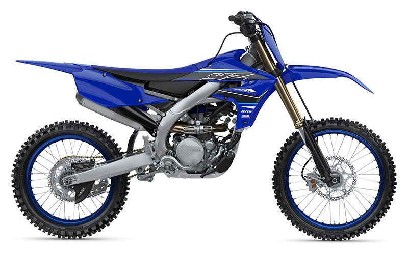 2021 Yamaha YZ250F in Sacramento, California - Photo 1