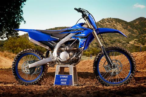 2021 Yamaha YZ250F in Johnson City, Tennessee - Photo 15