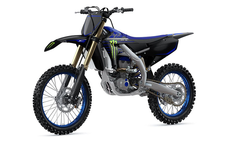 2021 Yamaha YZ250F Monster Energy Yamaha Racing Edition in Ishpeming, Michigan - Photo 4