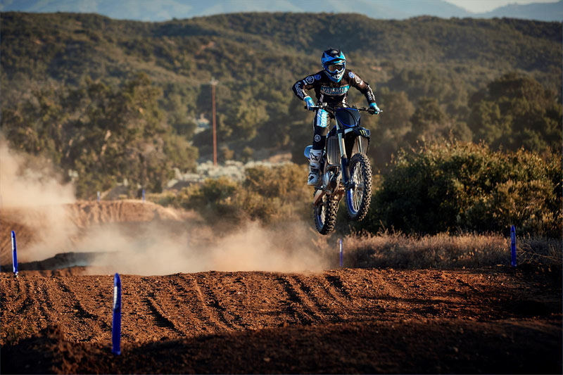 2021 Yamaha YZ250F Monster Energy Yamaha Racing Edition in Merced, California - Photo 12