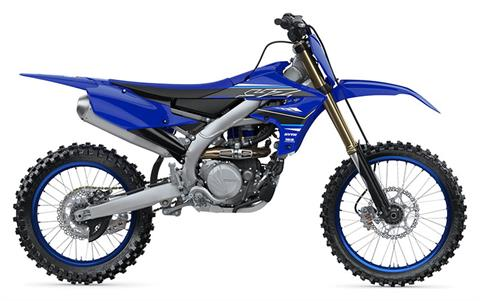 2021 Yamaha YZ450F in Coloma, Michigan