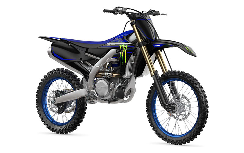 2021 Yamaha YZ450F Monster Energy Yamaha Racing Edition in Santa Maria, California - Photo 3