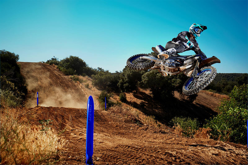 2021 Yamaha YZ450F Monster Energy Yamaha Racing Edition in Santa Maria, California - Photo 9