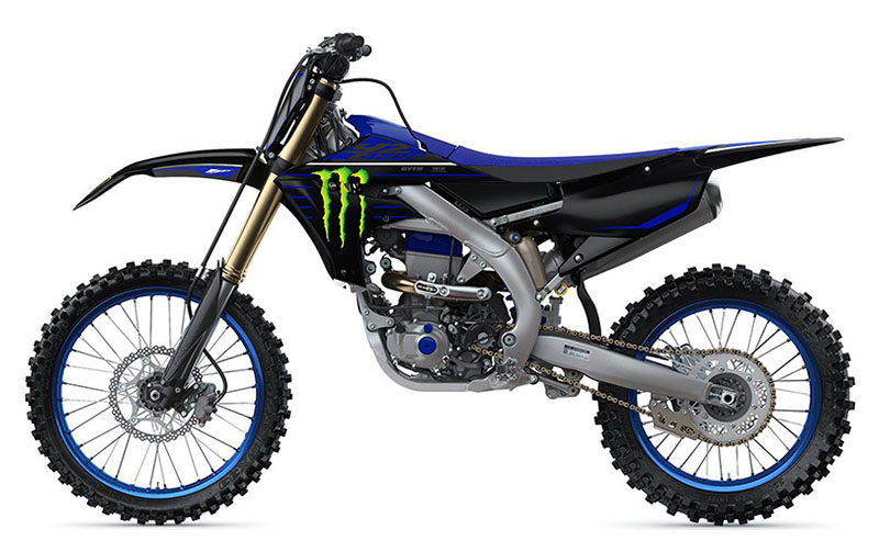 2021 Yamaha YZ450F Monster Energy Yamaha Racing Edition in Santa Maria, California - Photo 2