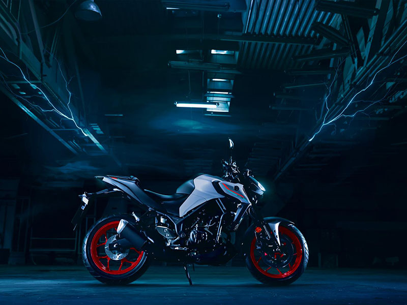 2021 Yamaha MT-03 in Athens, Ohio - Photo 4