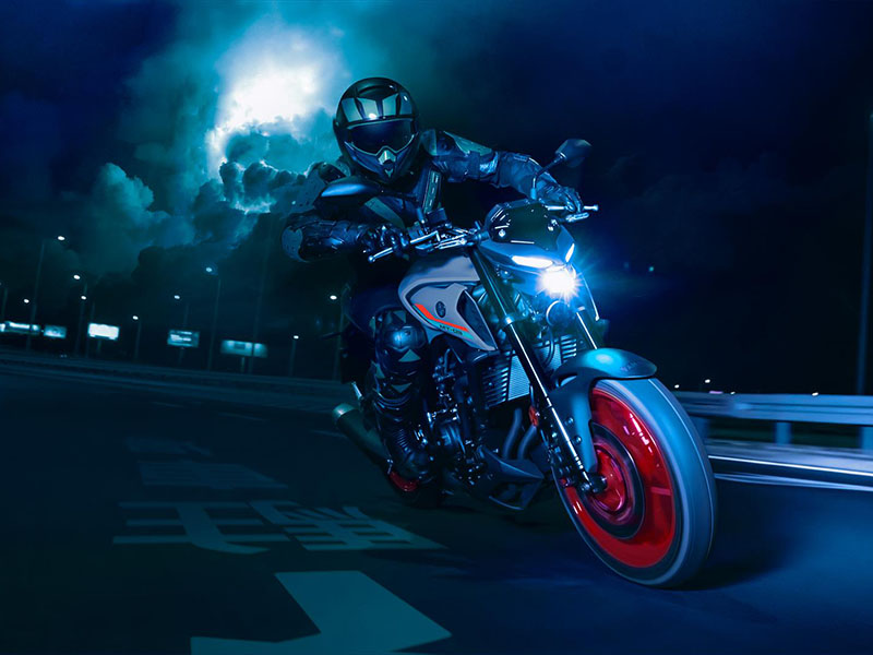 2021 Yamaha MT-03 in Zephyrhills, Florida - Photo 9