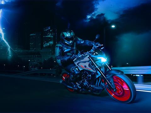 2021 Yamaha MT-03 in San Marcos, California - Photo 10