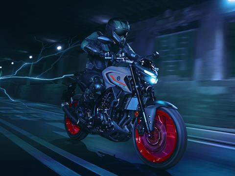 2021 Yamaha MT-03 in San Marcos, California - Photo 12