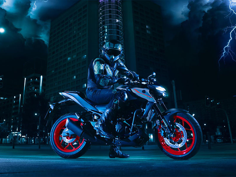 2021 Yamaha MT-03 in San Marcos, California - Photo 15