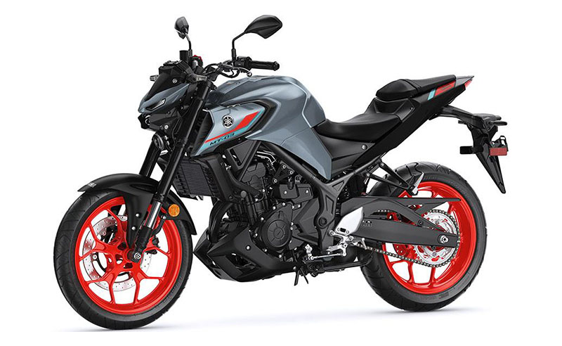 2021 Yamaha MT-03 in Santa Clara, California - Photo 4