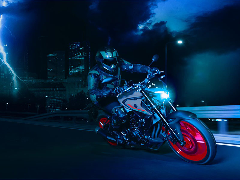 2021 Yamaha MT-03 in Berkeley, California - Photo 12