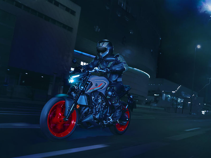 2021 Yamaha MT-03 in Berkeley, California - Photo 13
