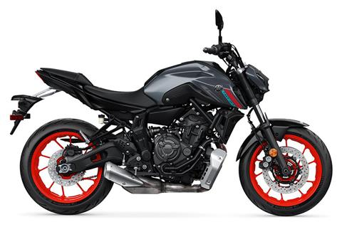 2021 Yamaha MT-07 in Belvidere, Illinois