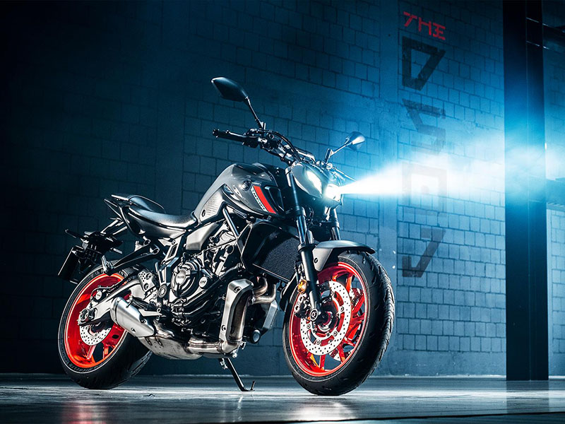 2021 Yamaha MT-07 in San Marcos, California - Photo 4