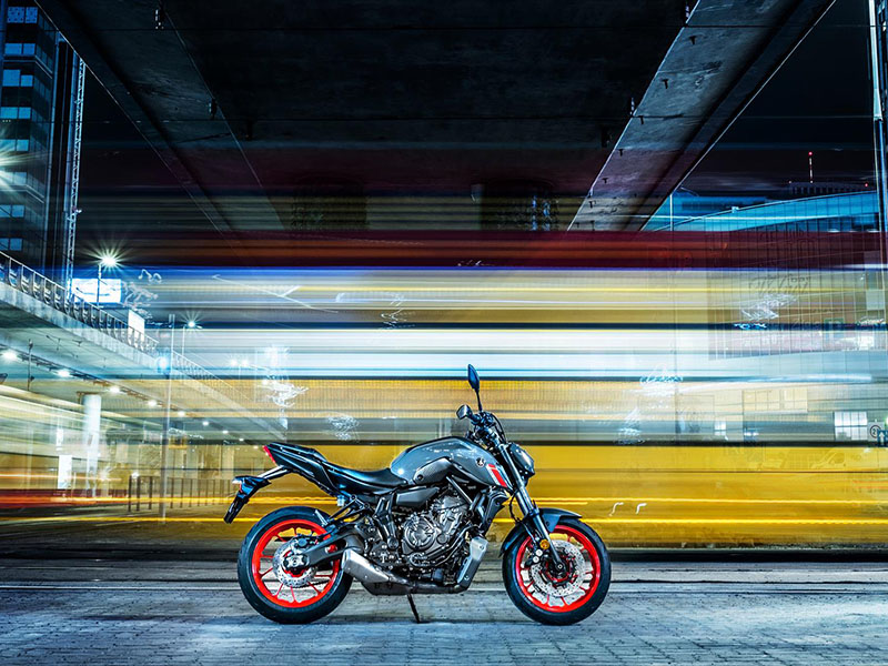 2021 Yamaha MT-07 in San Marcos, California - Photo 9
