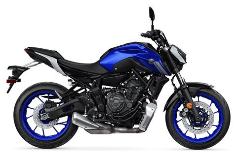 2021 Yamaha MT-07 in Amarillo, Texas