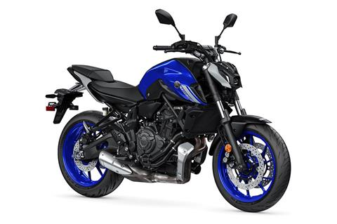 2021 Yamaha MT-07 in Escanaba, Michigan - Photo 2