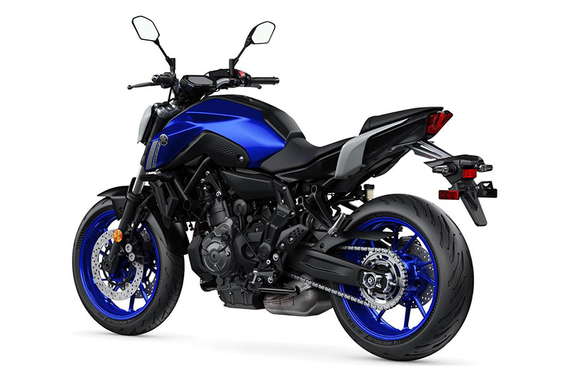 2021 Yamaha MT-07 in Berkeley, California - Photo 3
