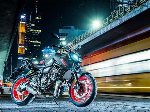 2021 Yamaha MT-07 in Berkeley, California - Photo 8